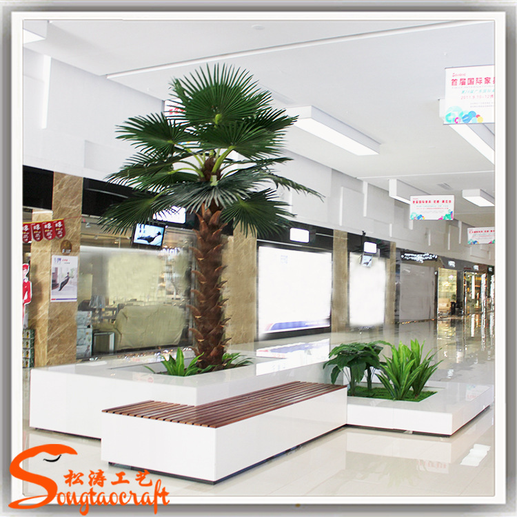 fake shrubs for outdoors fake mini palm tree artificial house plants tree