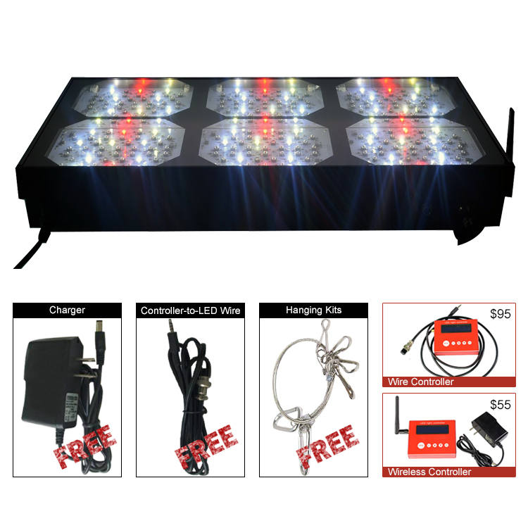 Matrix S900 equal 1000w hps led grow light full spectrum and programmable system