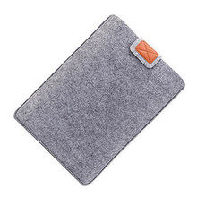 Factory Price Slim Wool Felt Laptop Sleeve Case Bag 13 15 15.6 inch for Apple Macbook Air Pro
