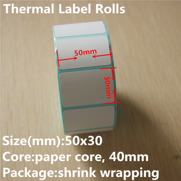 2016 hot sell Customized Self Adhesive Label Rolls for supermarket with private logo printed rolls custom sticker printing