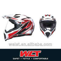 New hot sale off road helmet chinese full face motorcycle helmets WLT-128 White
