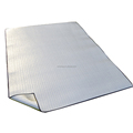 Outdoor double sided alluminum foil multipurpose picnic mat