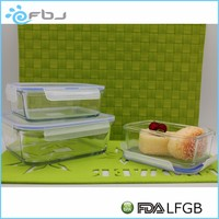 * / 2016 New High Quality Microwave-safe Pyrex Glass Lunch Box