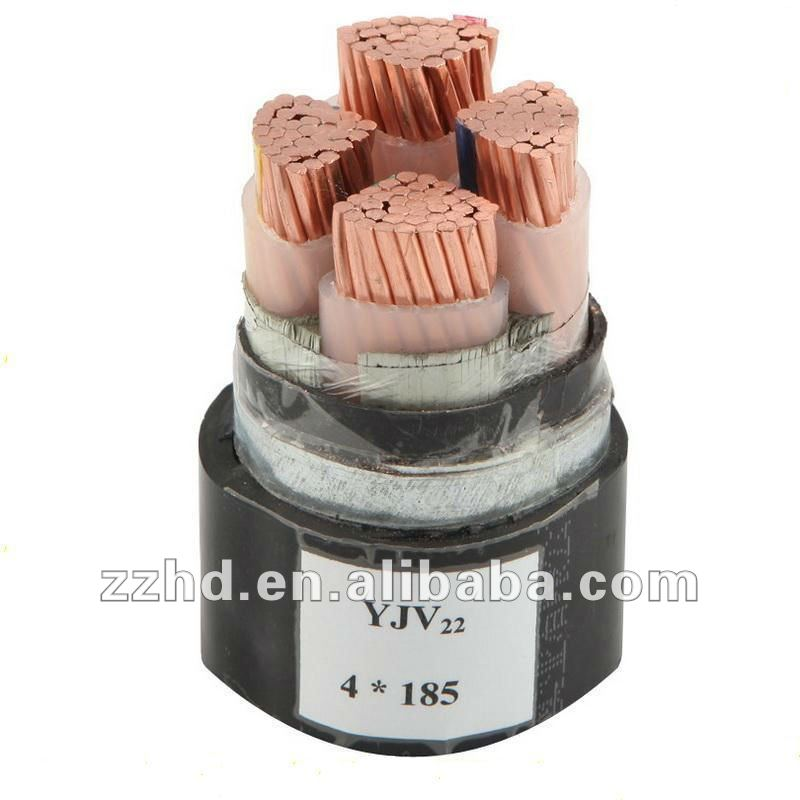 0.6/1KV Steel Tape Armored XLPE Power Cable 4 core armoured cable