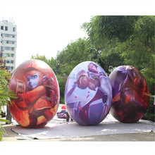 new design! LED lighting inflatable easter egg/giant inflatable egg for Easter decoration