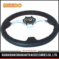 Wholesale 350 mm suede steering wheels for racing cars