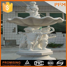hot sale natural well polished marble made hand carved china granite water fountain bases