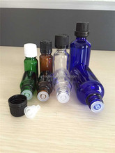 Essential Oil Glass Dropper Bottles with Dropper Cap Amber Clear Green Blue Dropper Glass Bottle