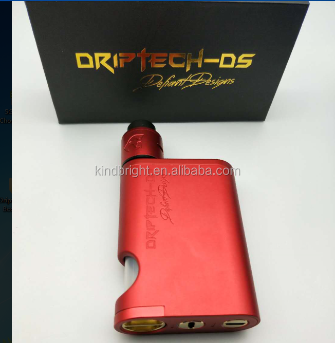 Beautiful BF box Mod!!!! 2017 Kindbright New Arrival!Driptech-DS Goon Box Mech Squonk Box & Kit with high quality in stock