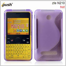 for nokia N 210 soft purple S line tpu case