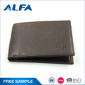 Alfa Most Popular Products Custom Logo Money Clip Men'S Bifold Wallets