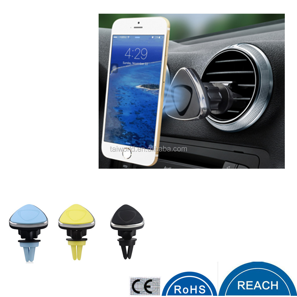 2016 new gadgets 360 degree rotation car magnetic mobile phone holder