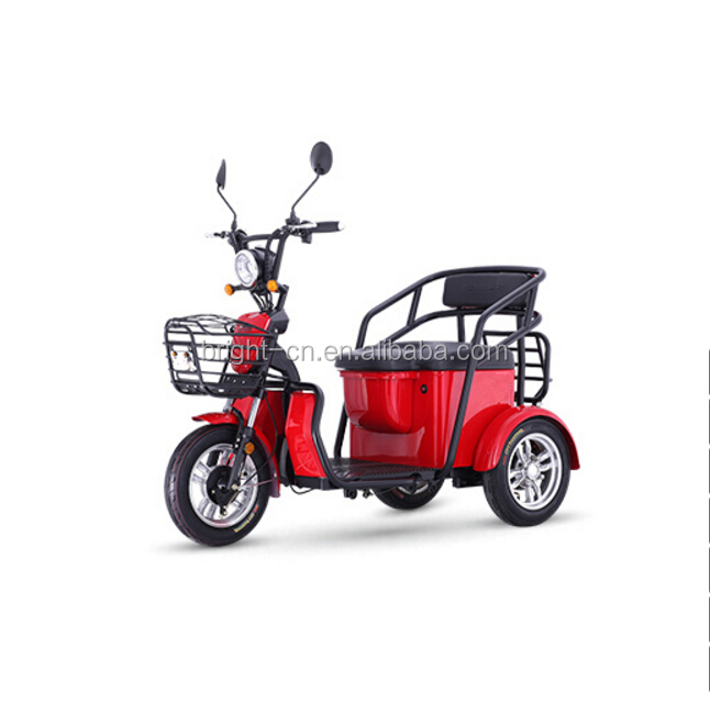 Cheap price 3 Wheel electric disabled scooter tricycle/moped For Adult
