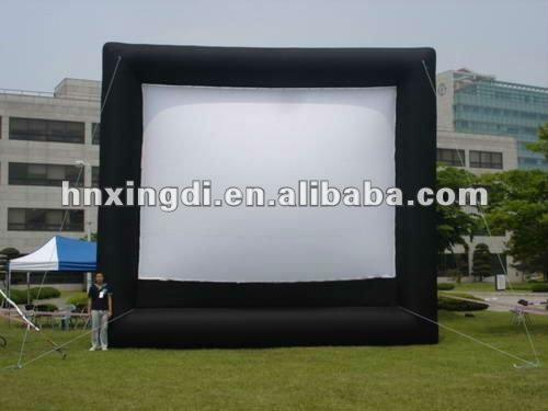 inflatable screen advertisement inflatable tv screen equipment