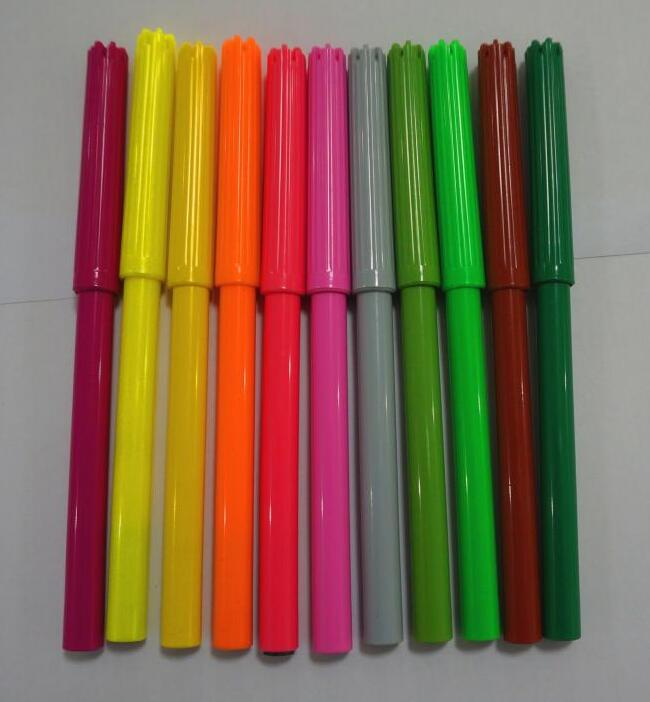 24 color non-toxic washable water color pen