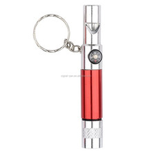 LED light pen with compass and key ring, multi-functional pen, tool pen