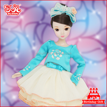 11.5 inches fashion glamours Chinese dressed-up doll