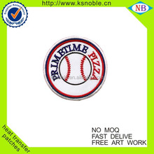 Wholesale sport design custom embroidery baseball patch