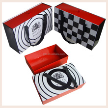 Popular Luxury custom printing paper gift bag box with handle for shoes