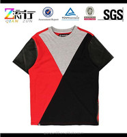 Multi color cotton men's t-shirt/black red gray joint t-shirt for man,t-shirt assorted colors