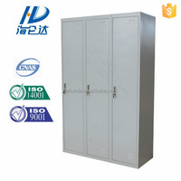 Luoyang hot sale furniture designer almirah latest steel clothes wardrobe