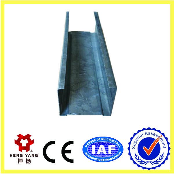 hot Dipped Galvanized Structural Steel Profile