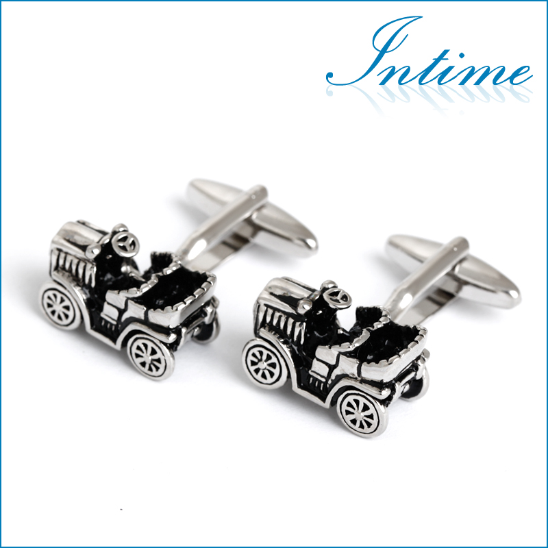 Jalopy Cufflinks In Sterling Silver