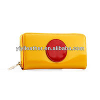Tu-6-2013 Latest lady monedero, silicone designer wallet fashion branded purses for women
