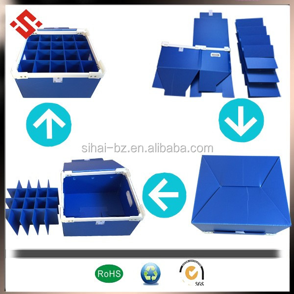 Polypropylene Material corflute Corrugated Plastic Sheets