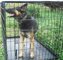 Foldable powder coating stainless steel Q235 durable dog cage