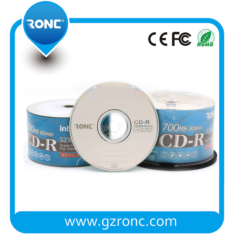 Blank CDR Disc 700mb/52x Grade A