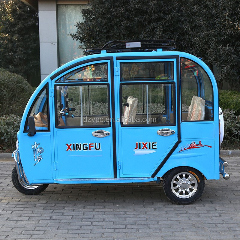 strong climbing ability passenger tricycle with cabin
