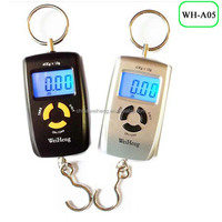 Personal pocket digital hook weighing scale