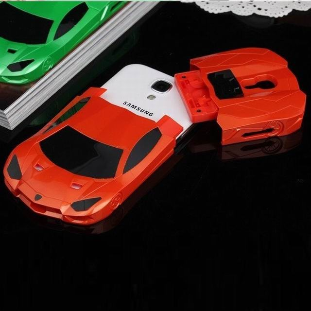 Stand Hard Car Model Lamborghini Cover for Samsung Galaxy S4 Phone Case