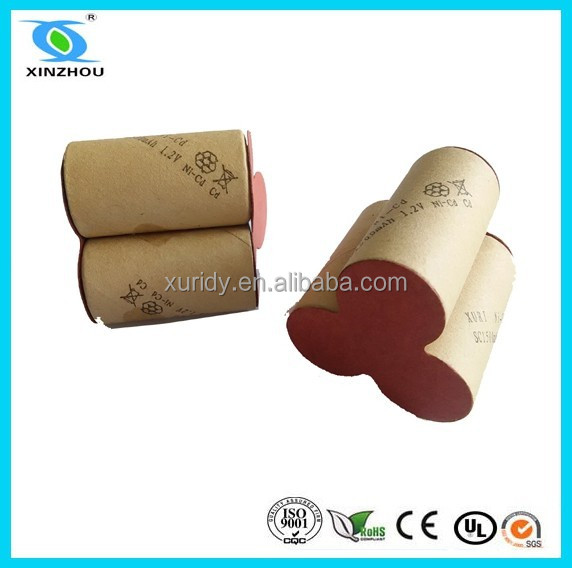 nicd sc 1500mah rechargeable battery 3.6v
