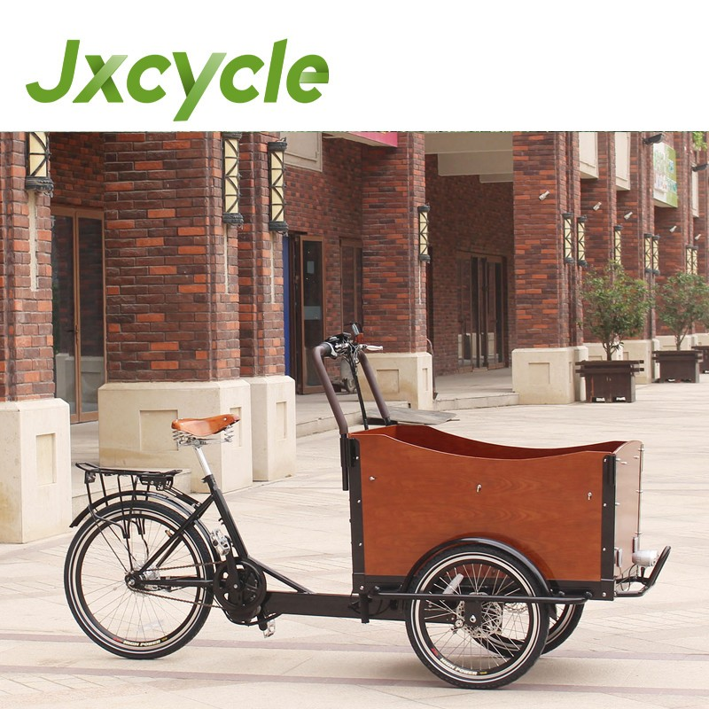 Shimano 7 speed kids three wheel cargo bike