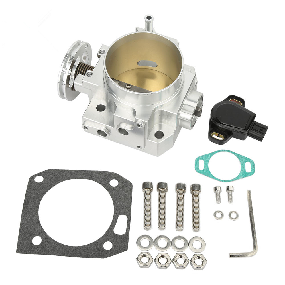 Perfomance <strong>Engine</strong> 70mm Auto Flat Throttle Body Assy for K20 K20A EP3 DC5