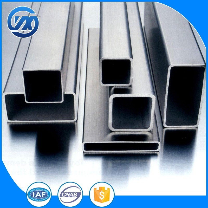 Hollow high-grade square tube/pipe Customized Stainless Steel