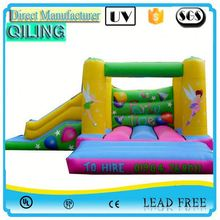 2017 New Style big fun shoes inflatable jumping castle for kiddie