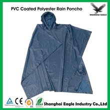 Promotion Waterproof PVC Polyester Poncho Raincoat