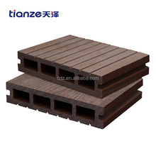 Outdoor composite wpc decking cheap price wpc board
