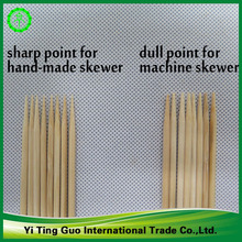 cheap disposable BAMBOO SKEWER natural bamboo