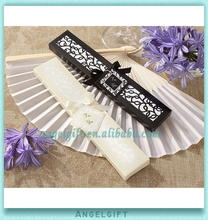 Wholesale Yiwu Angel Gifts <strong>Wedding</strong> Favors Luxurious Silk Fan in Elegant Gift Box Hand Fan <strong>Wedding</strong>