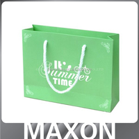 Promotional Luxury print gift shop name ideas bag