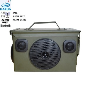 shenzhen supplier wholesale portable combination speaker of DC12V220V mp3 bluetooth FM play for yacht swimmingpoolparty picnic