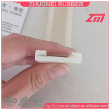 Soft silicone rubber for strap