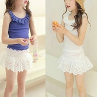 Hot made in korea clothes manufacture new design for 2014 little girl clothes wholesale custom teenage fashion clothes