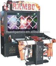 Rambo Coin Operated Arcade / Video Shooting Equipment/ Arcade Shooting Game Machines