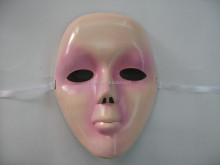 halloween party plastic mask pvc plastic mask halloween full face mask Masquerade Halloween Karneval mask