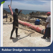 8 inch Water Pump rubber Suction hose for dredging